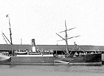 Beryl (Gem Line): in Dundee harbour ca 1890
